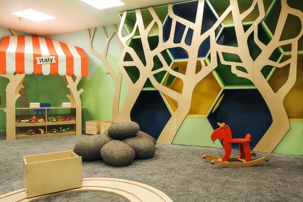 Детская комната ресторана Italy на Московском