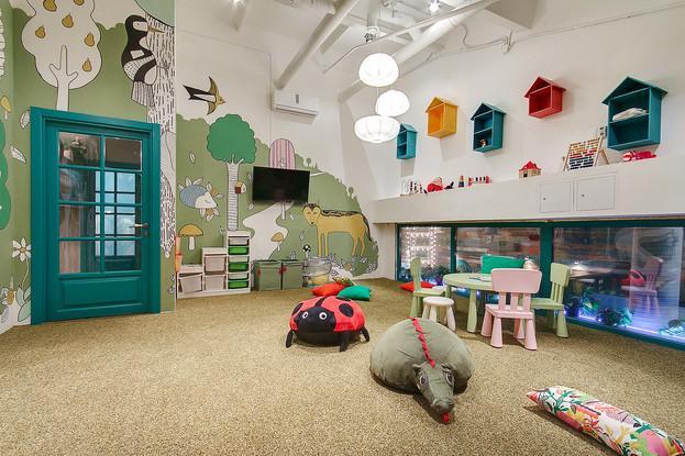 Детская комната ресторана CheerDuck
