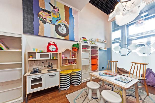 Детская комната ресторана Grill Station