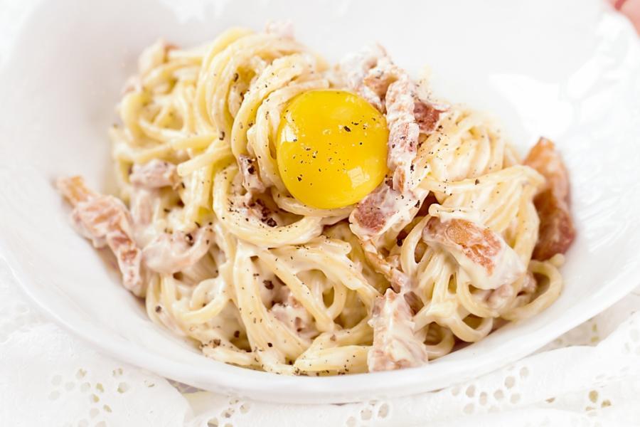 Спагетти Карбонара(295 руб.)
