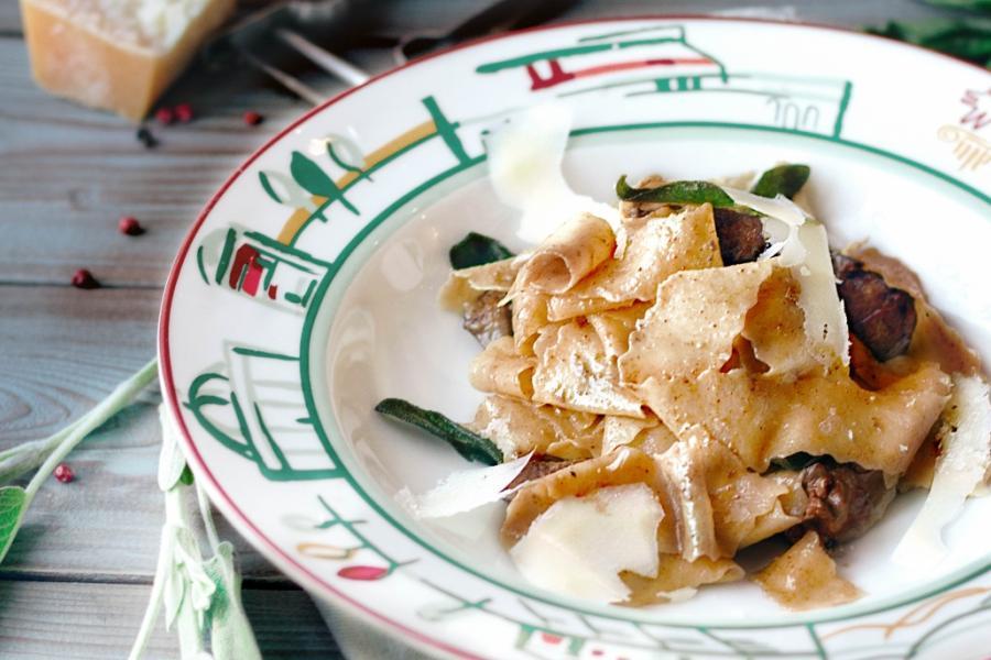 Паста Fegato di Pollo(355 руб.)