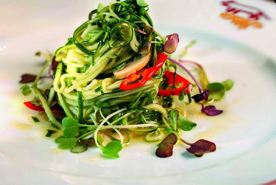 Салат из цукини(215 руб.)