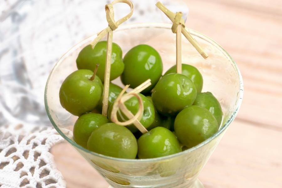 Сицилийские оливки(190 руб.)