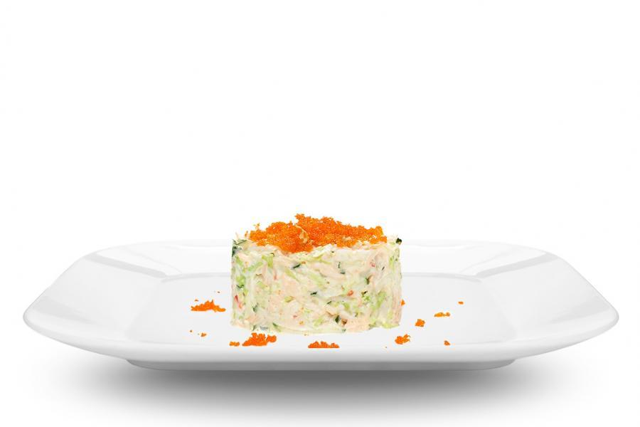 Крабовый салат(690 руб.)