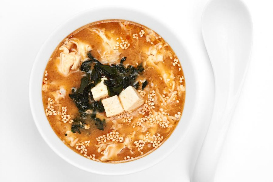 Суп кимчи(200 руб.)