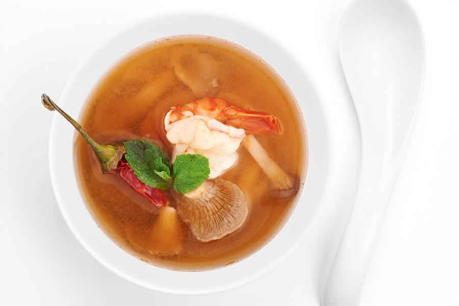 Суп Том-Ям Кунг(490 руб.)