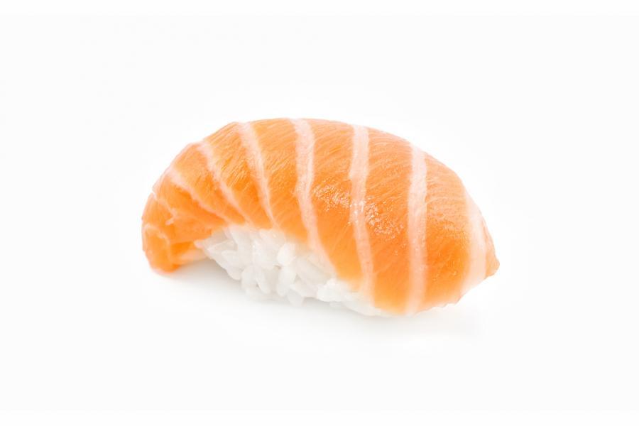 Суши с лососем(160 руб.)