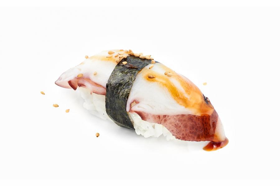Суши с осьминогом(160 руб.)