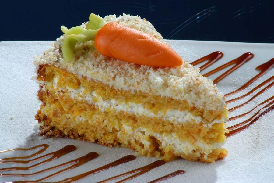 Торт морковный(290 руб.)