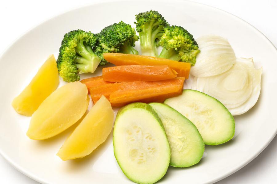 овощи на пару(390 руб.)
