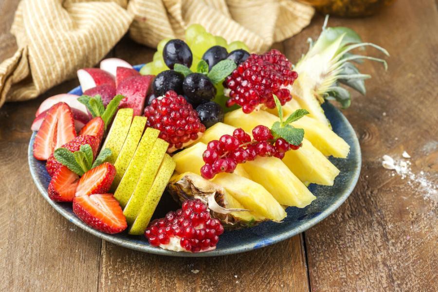 фруктовая тарелка( руб.)