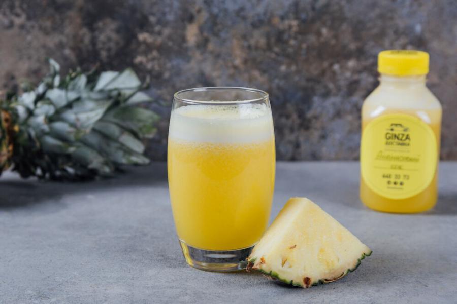 ананасовый фреш (550 руб.)