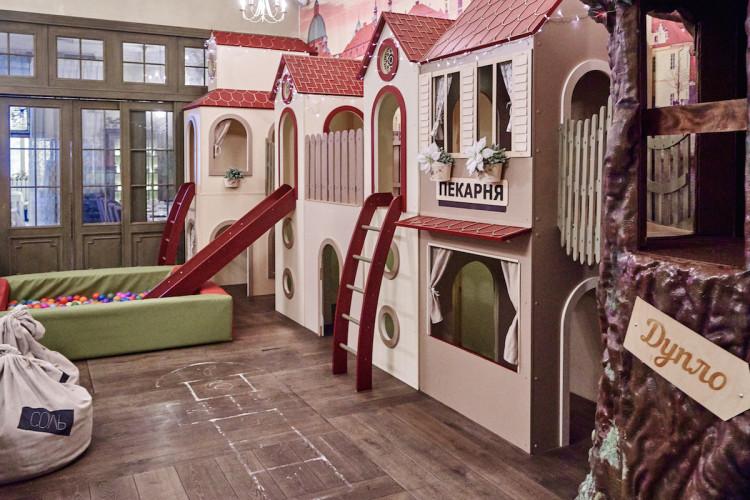 Детская комната ресторана «Плюшкин»