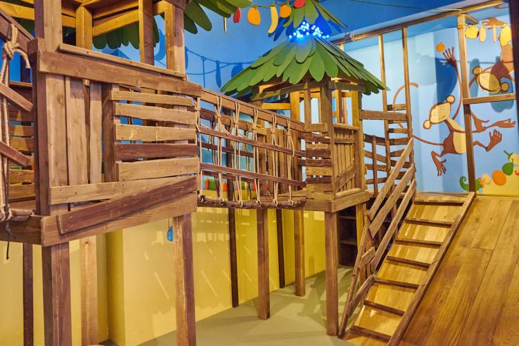Детская комната ресторана «Маймун»