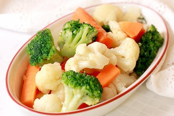 Овощи на пару(155 руб.)