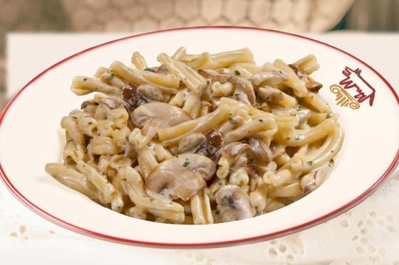 Казаречче с баклажанами и грибами(295 руб.)