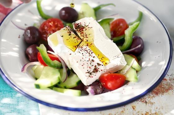 Греческий салат(325 руб.)