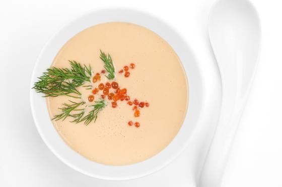 Крем-суп из лосося(300 руб.)