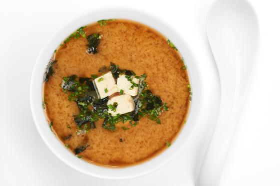 Суп мисо(150 руб.)