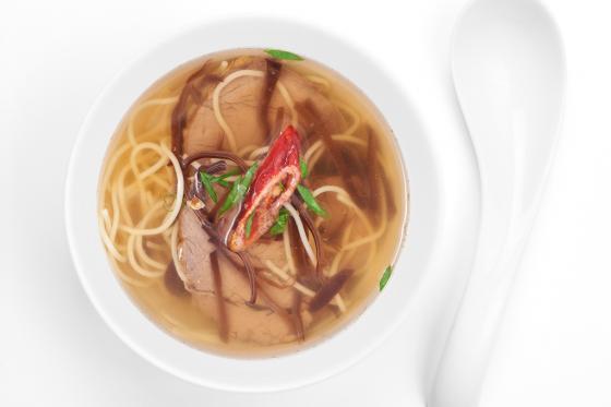 Суп с говядиной(350 руб.)