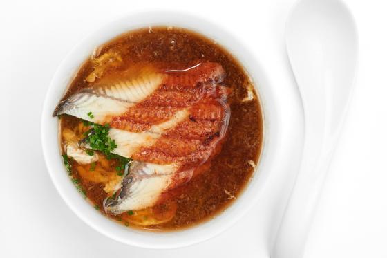 Суп с угрем(350 руб.)