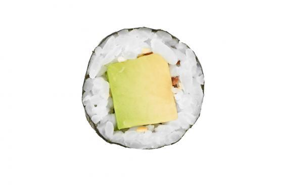 Ролл с авокадо(250 руб.)