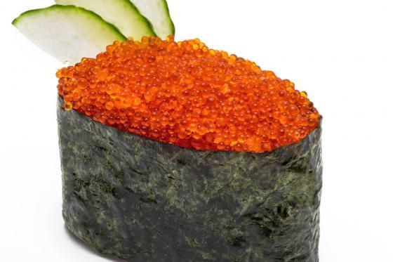 Суши с тобико(120 руб.)