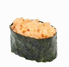 Острые суши с кальмаром(190 руб.)
