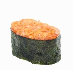 Острые суши с лососем(190 руб.)