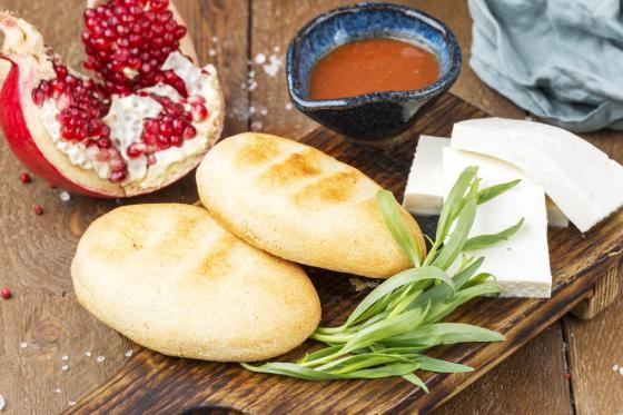 мчади с имеретинским сыром(420 руб.)