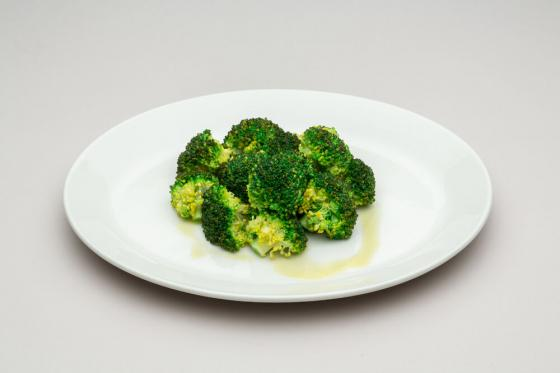 брокколи на пару(390 руб.)