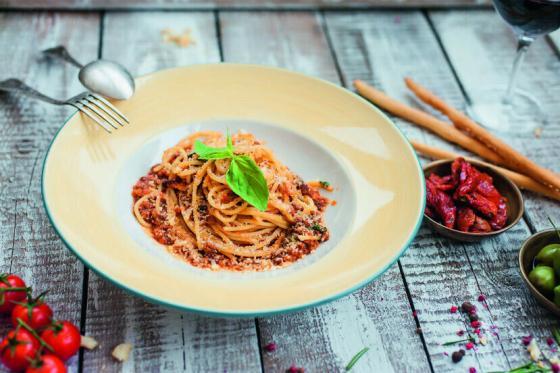 спагетти болоньезе(560 руб.)