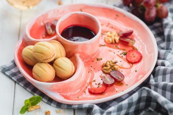 орешки с вареной сгущенкой(240 руб.)