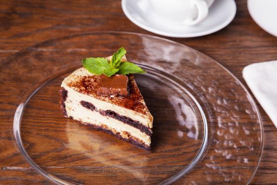 шоколадно-банановый торт(370 руб.)