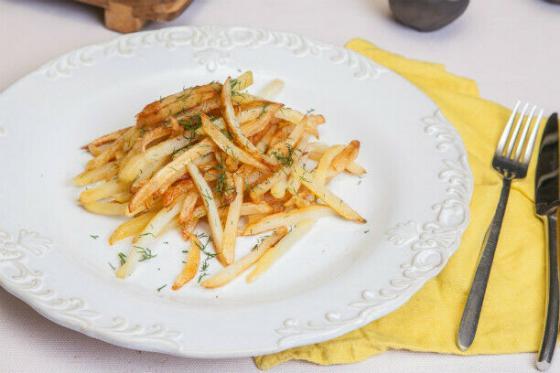 жареный картофель(270 руб.)