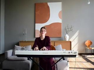 Выступление пианистки